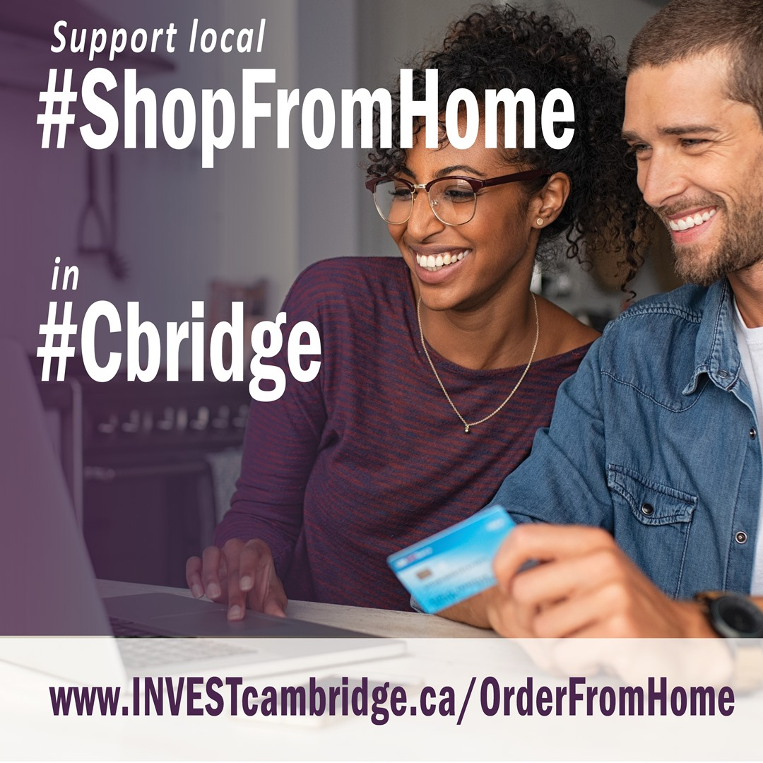ShopFromHome Instagram graphic for promoters
