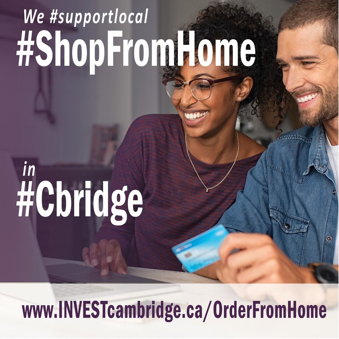ShopFromHome Instagram graphic for supporters